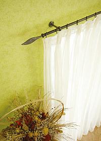 gardinenstangen aus schmiedeeisen. Black Bedroom Furniture Sets. Home Design Ideas